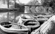 Congleton, Park, the Boats c1960