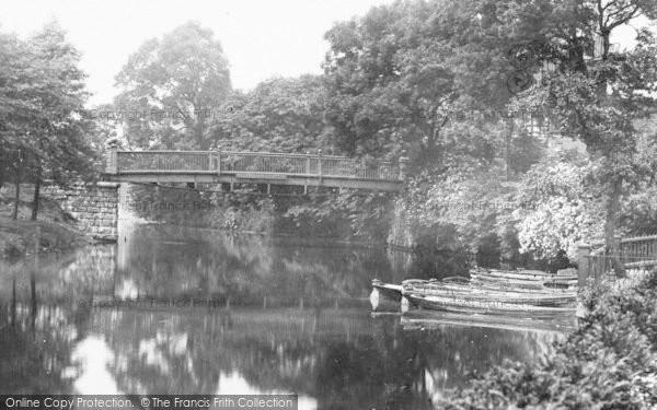 Photo of Congleton, River Dane 1898