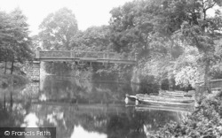 Congleton, River Dane 1898