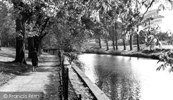 Congleton, River Dane c.1960