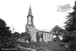 Congleton, St John's Church, Buglawton 1898