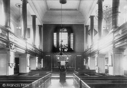 Congleton, St Peter's Church, Interior 1898