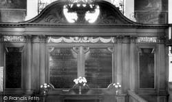 Congleton, St Peter's Church Interior c.1960