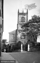 Congleton, St Peter's Parish Church c.1955