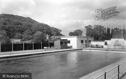 Congleton, The Baths c.1950