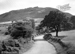 Congleton, The Cloud From Bosley c.1950