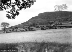 Congleton, The Cloud From Buglawton c.1950
