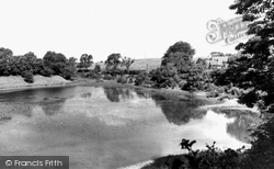 Congleton, The Lakes c.1965