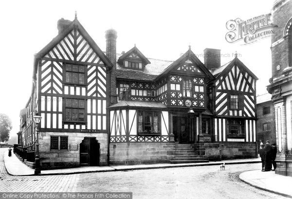 Photo of Congleton, The Lion And Swan Hotel 1898
