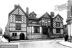 Congleton, The Lion And Swan Hotel 1898