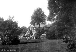 Congleton, The Park 1902