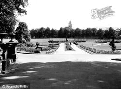 Congleton, The Park c.1960