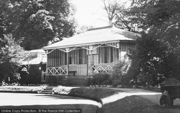 Photo of Congleton, The Park Pavilion c.1955