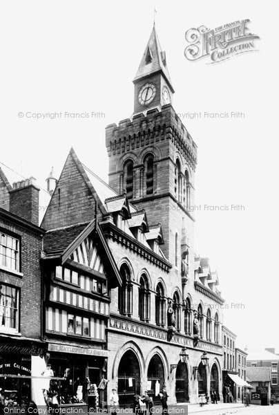Photo of Congleton, The Town Hall 1898