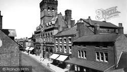Congleton, The Town Hall And High Street c.1960