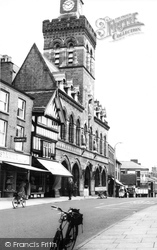 Congleton, The Town Hall c.1965