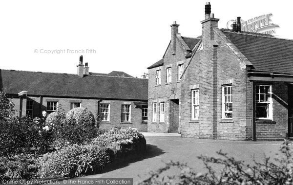 Photo of Congleton, The War Memorial Hospital c.1955