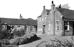 Congleton, The War Memorial Hospital c.1955