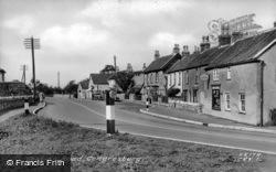 Station Road c.1955, Congresbury