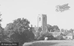 Church And Village c.1955, Coningsby