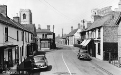 Coningsby, High Street 1959