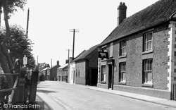 High Street c.1955, Coningsby