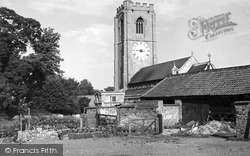 St Michael's Church c.1955, Coningsby
