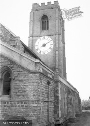 The Church Clock c.1965, Coningsby