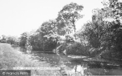 Coningsby, The River And Church c.1960