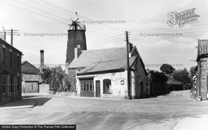 Coningsby,the Mill c1955,Lincolnshire