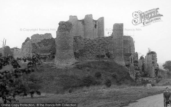 Photo of Conisbrough, Castle c.1960