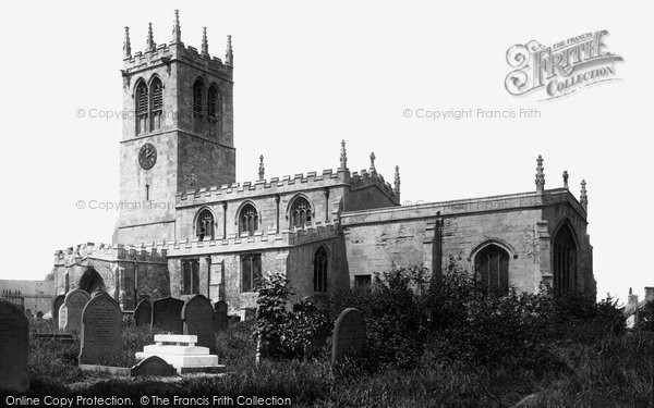 Photo of Conisbrough, St Peter's Church 1895