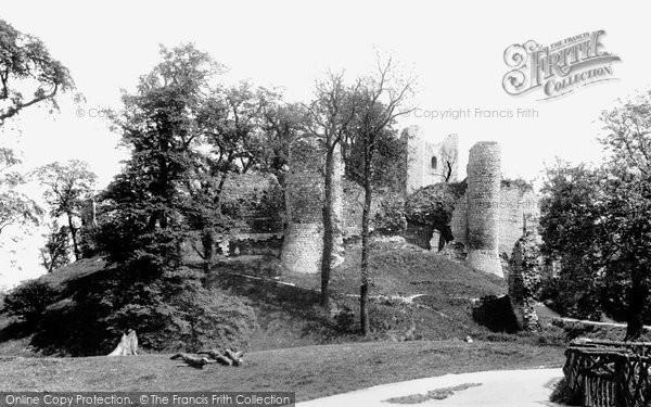 Photo of Conisbrough, The Castle 1895