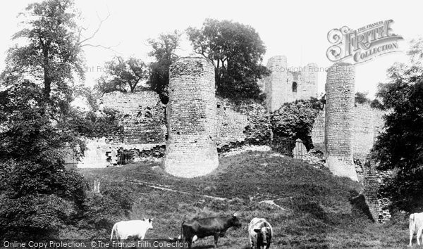 Photo of Conisbrough, The Castle 1903