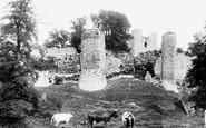 Conisbrough, the Castle 1903