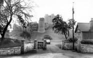 Conisbrough, the Castle c1965