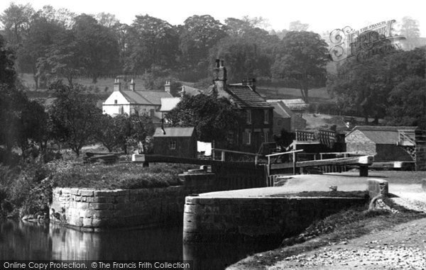 Photo of Conisbrough, the Lock 1895