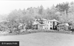 Coniston, 'brantwood', John Ruskin's Home c.1955