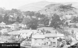 Coniston, Coniston Old Man From Church Tower c.1955