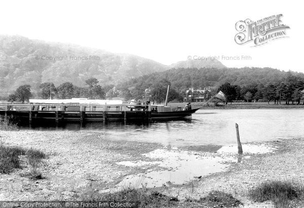 Photo of Coniston, Gondola Pier 1906