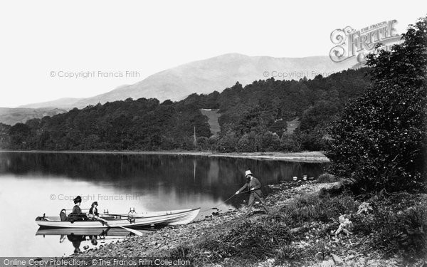 Photo of Coniston, Head Of Coniston Water And The 'old Man' c.1873