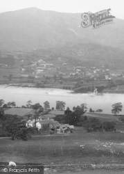 Coniston, Lake And Old Man 1892