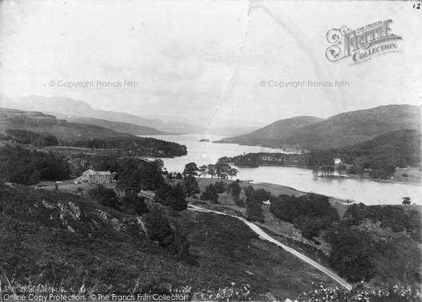 Photo of Coniston, Lake From The South c.1890
