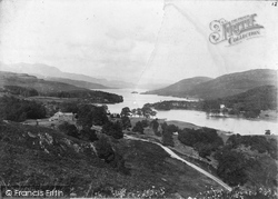 Coniston, Lake From The South c.1890