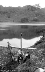 Coniston, Men Working, Oxenfell Tarn 1924