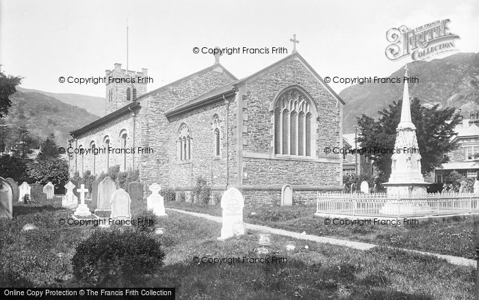 Photo of Coniston, St Andrew's Church 1906