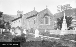 Coniston, St Andrew's Church 1906