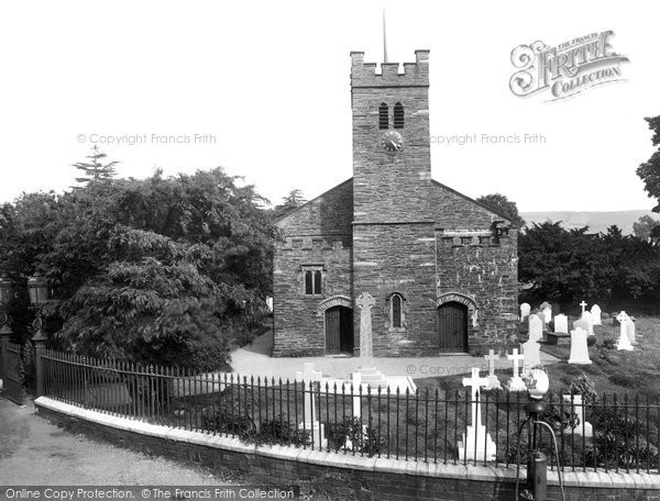 Photo of Coniston, St Andrew's Church 1929