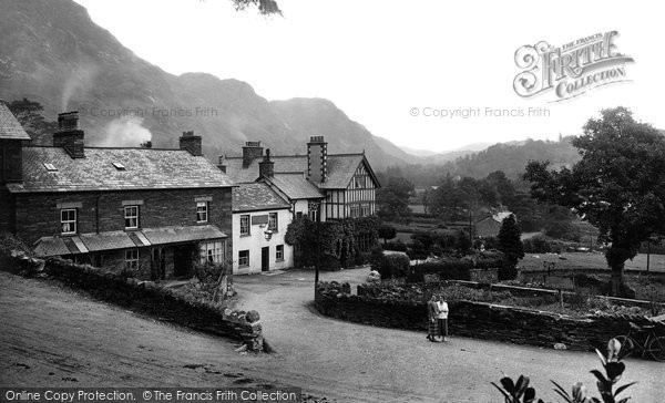 Coniston, Sun Hotel 1924.  (Neg. 75861)  � Copyright The Francis Frith Collection 2008. http://www.francisfrith.com