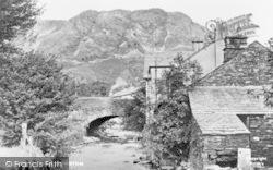 Coniston, The Bridge c.1955